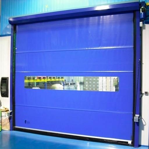 Puertas rápidas para uso industrial